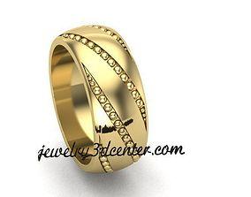 Wedding Ring cad 3D printable model