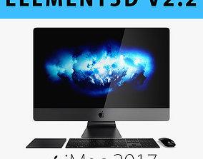 E3D - iMac Pro 27-inch Set 2017 model