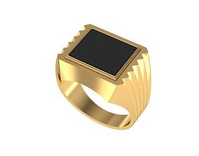 3D printable model Finger ring male
