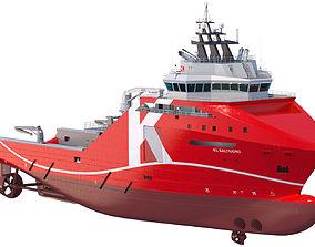 3D 95 m AHTS Supply Vessel KL SALTFJORD