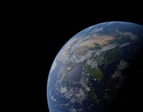 Earth sky 3D model