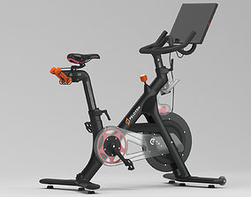 3D model trainer Peloton Gym Bike