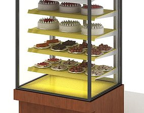 Food Catering Stand 3D