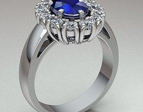 Jewelry Ring Women bridal 3D print model