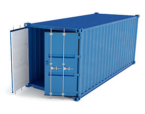 Shipping Container HQ 3D