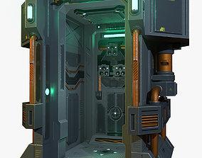 Scifi Chamber 3D model