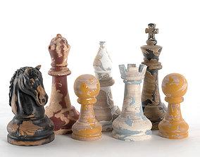 Decor Chess Set 3D