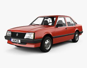 Opel Ascona sedan 1981 3D