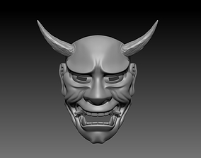 yokai 3D print model Oni Mask