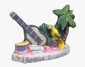 3D print model Dominican Republic Magnet Souvenir