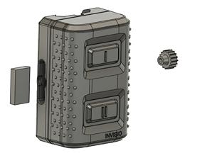 Replica Invisio M80 Dummy 3D print model m80
