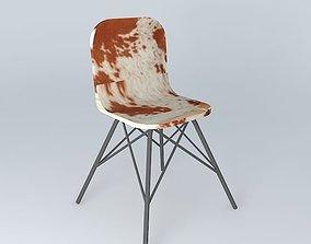 Cow chair AUSTERLITZ Maisons du monde 3D
