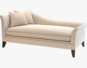 Chaddock Collection Laslo Daybed 3D model