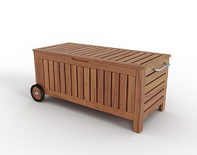 APPLARO TOSTERO Bench with storage bag outdoor 3D model 1