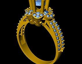 DiamondRing 3D printable model fashion