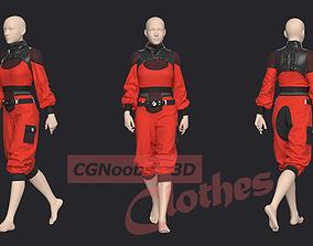 Sci-Fi Future Wear - 45 Marvelous Designer and