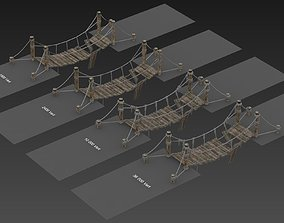 3D model Rope Bridge