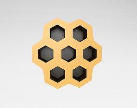 3D model Wasp Nest v1 001