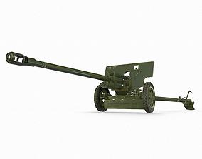 3D asset ZiS 3 soviet anti-tank gun