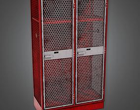 Sports Locker 02a - Sports And Gym 3D asset