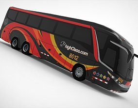 Highway Bus 3D model