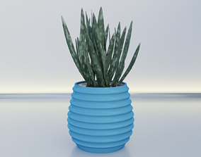 pot planter holder 10 3D print model