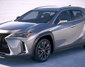 Lexus UX 2019 2021 3D
