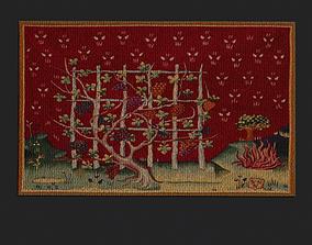 3D asset Forsaken Vineyard Tapestry