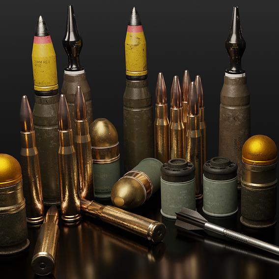 Rounds and Grenades