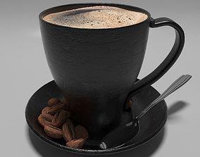 Coffee Mug 3D model caffeine