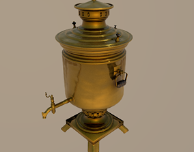 Samovar 3D water