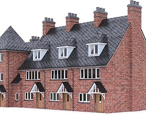 English Brick House 09 3D model