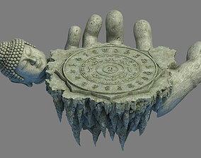 3D model Zen - altar