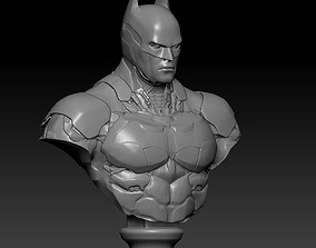 statue 3D printable model Batman