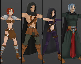 realtime 3D Characters Fantasy