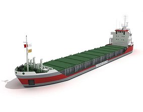 Cargo Boat 3D