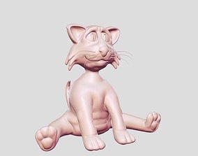 cat pet 3D print model