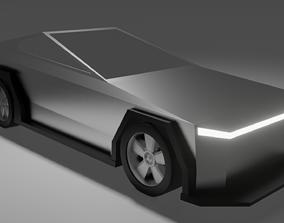 3D model Cybertruck Redesign