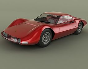 3D Ferrari 206 P Dino Pininfarina Berlinetta Speciale