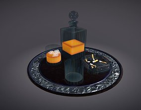 Scotch Serving Tray 3D