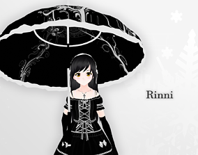 Rinni 3d model - Original rigged