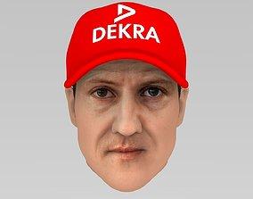 3D Michael Schumacher race