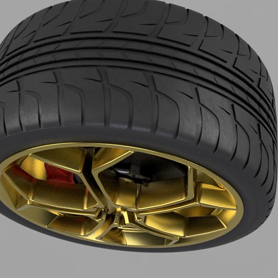 Aventadore 2016 wheel, disk & caliber