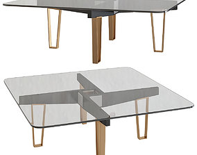 game-ready Marioni JOE COFFEE TABLE 3d model