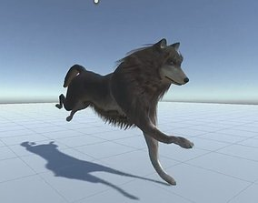 3D asset Wolf Rigged Low-poly and Game-Ready