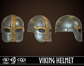 3D asset Viking Helmet 05