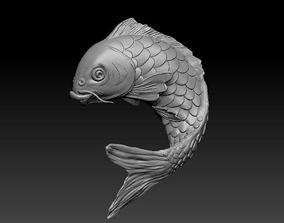 nature 3d model of fish
