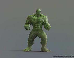3D Model The Hulk comic