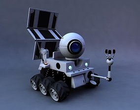Full Rigged Planet 51 Rover 3D model rigged