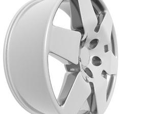 Wheel Rim tires 3D model